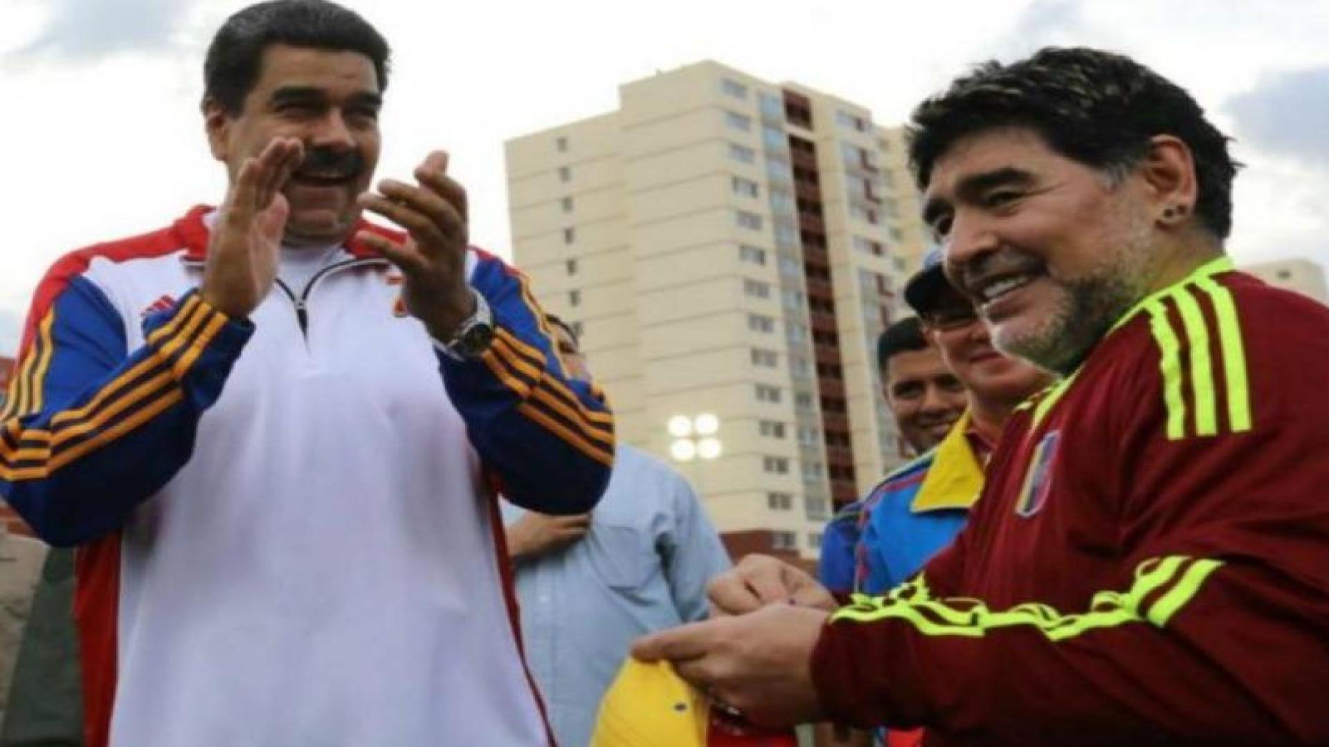 """Fidel, Chávez y Maradona nos protegen y acompañarán siempre"""" y otras 7 lastimeras perlas de Maduro"""