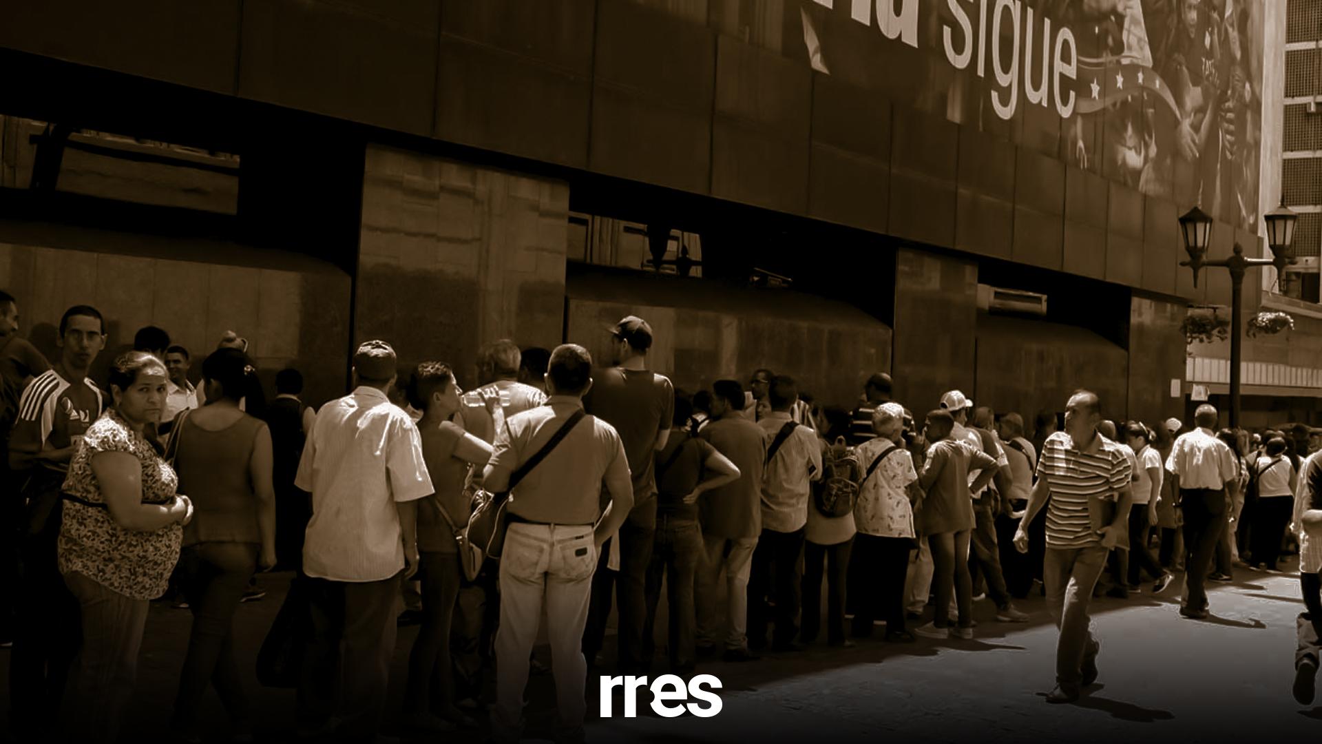 La depresión de la economía tritura a la banca venezolana