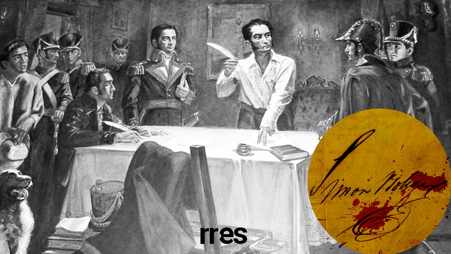 #10DocumentosBolivarianos   Proclama de Guerra a Muerte, o la insensatez de un holocausto, por Elías Pino Iturrieta