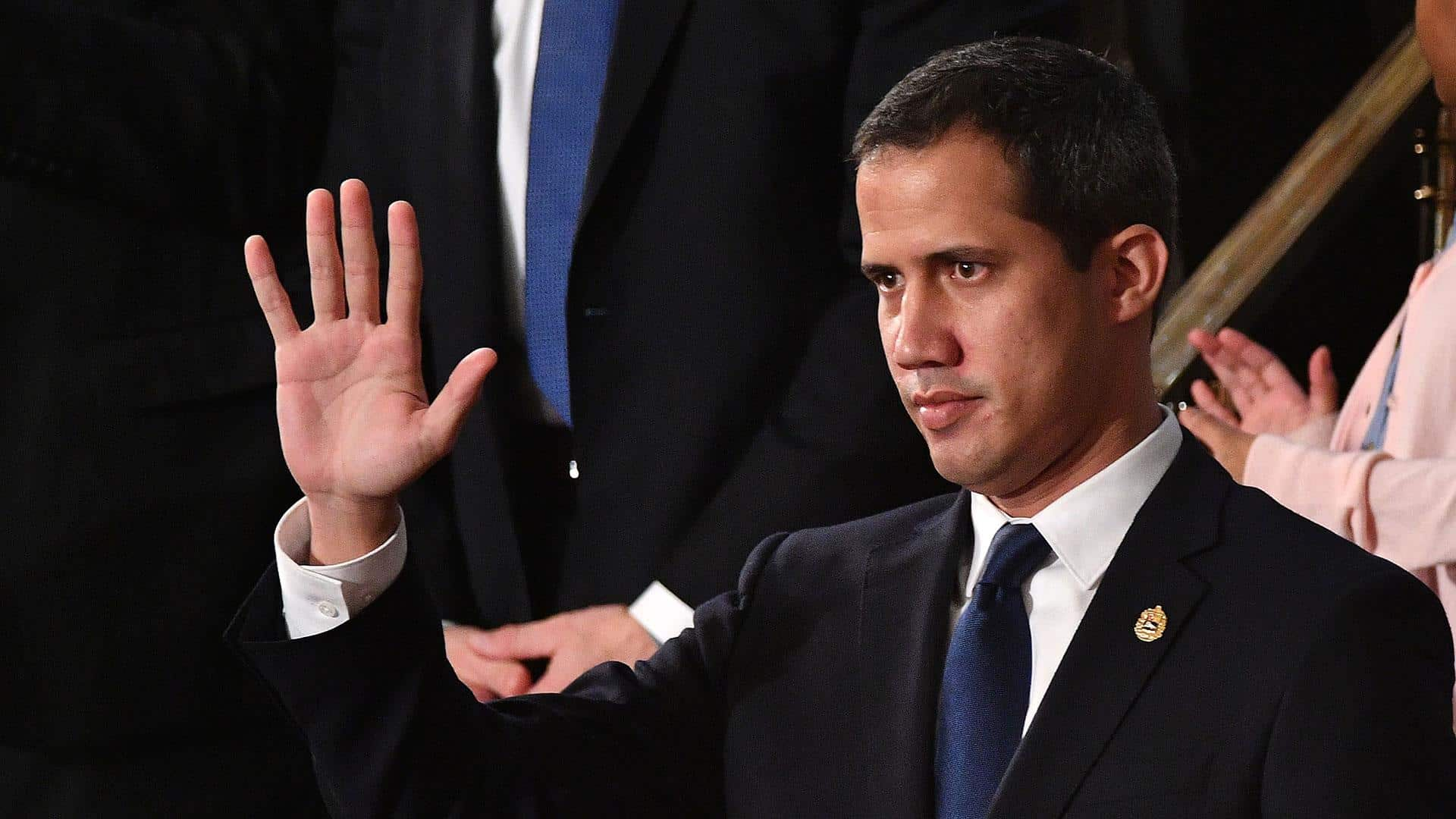Guaidó agradece al Parlamento Europeo su apoyo a la AN y al gobierno interino