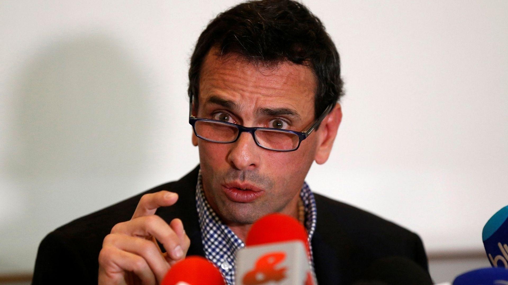 No tengo nada personal contra Guaidó, pero eso se acabó, y otras perlas de Capriles