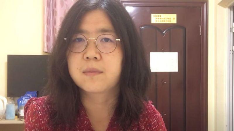 China condena a 4 años de prisión a infociudadana que cubrió inicio del brote de coronavirus en Wuhan