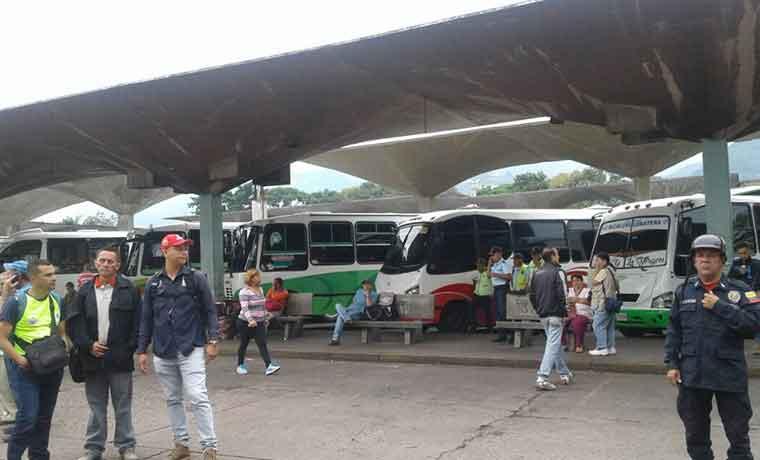 Suspendido transporte de pasajeros hacia Táchira por repunte de COVID-19