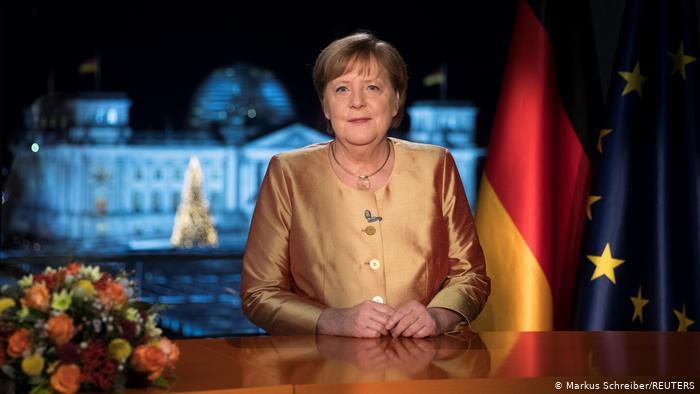 Angela Merkel recuerda a víctimas de la pandemia en su mensaje de año nuevo