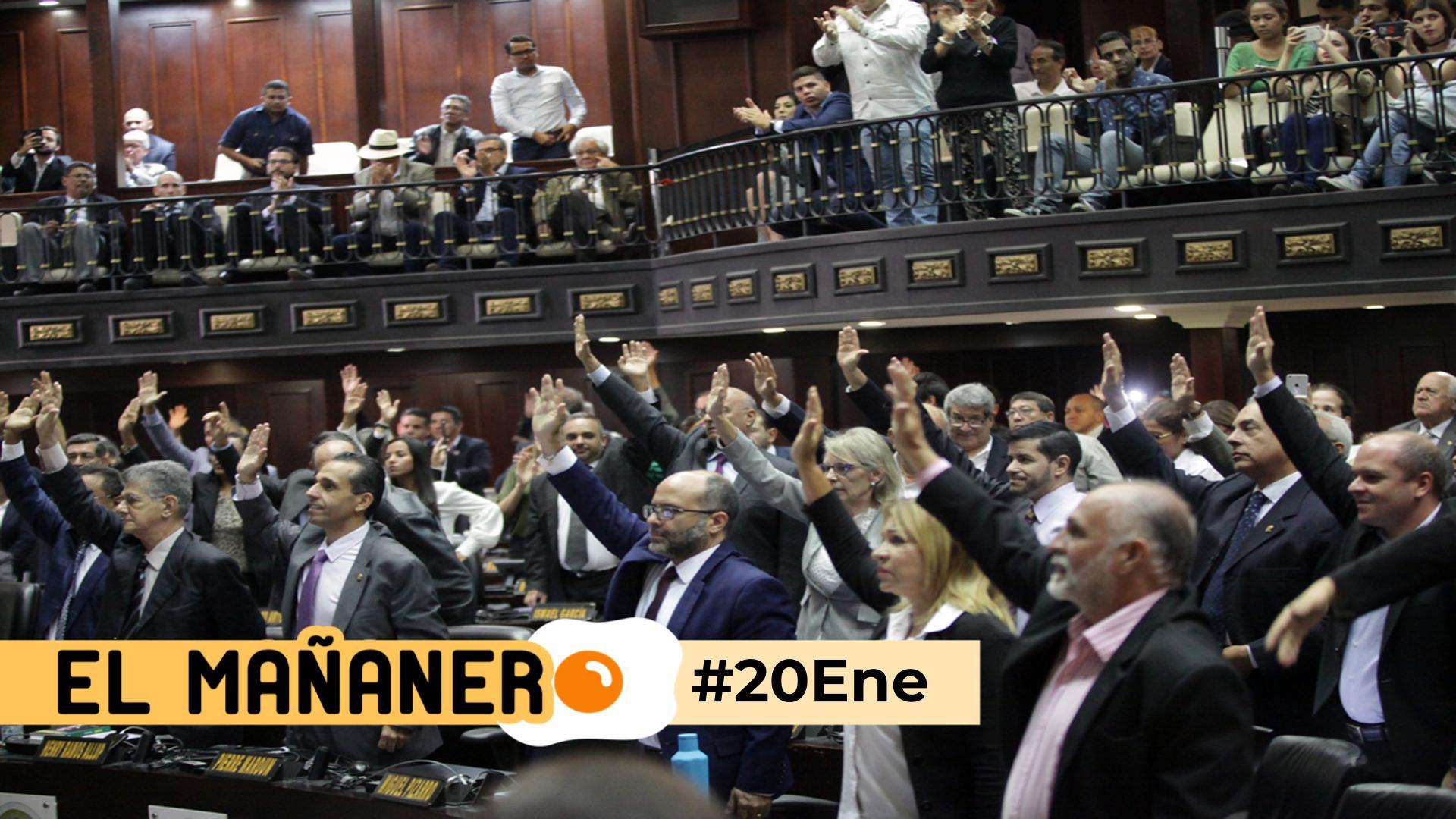 El Mañanero de hoy #20Ene: Las 8 noticias que debes saber