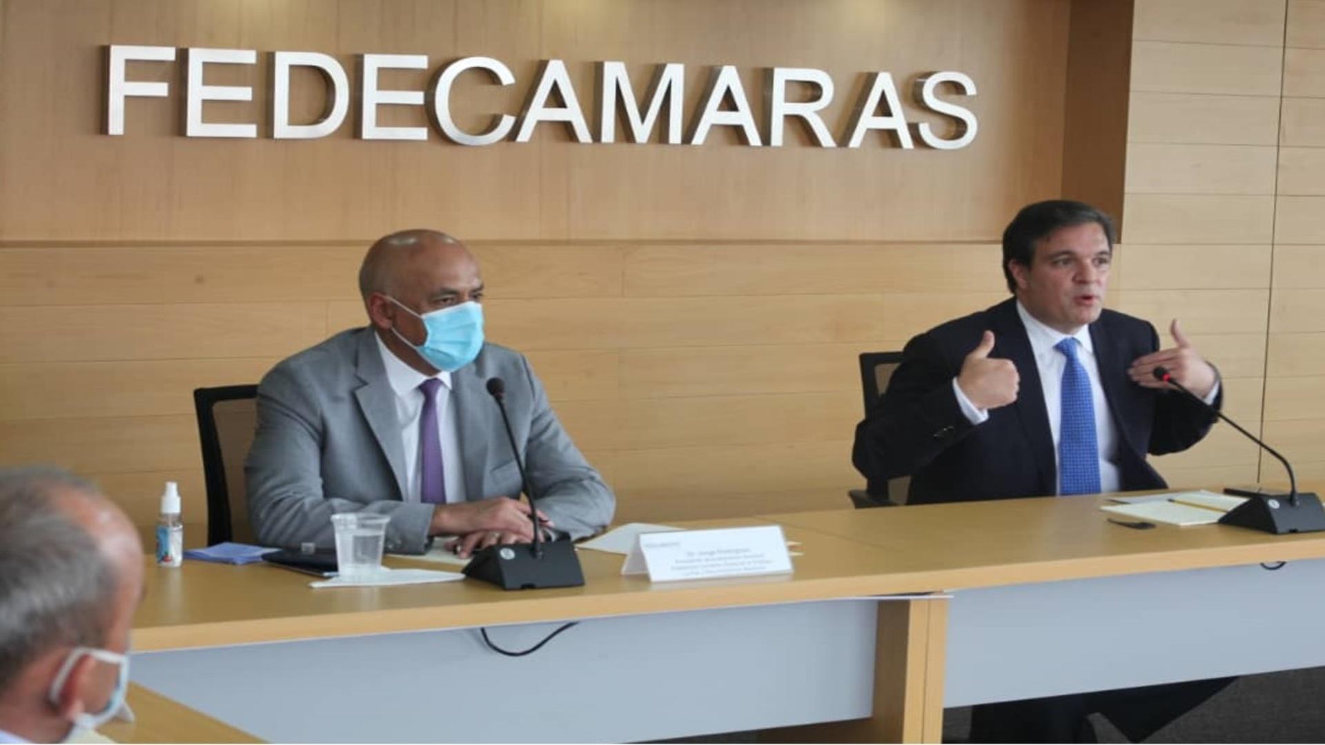 Jorge Rodríguez tras reunión con Fedecámaras: Aparecieron muchas ideas que nos permitirán acceder a la vacunación