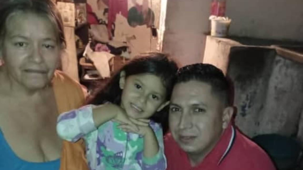 La niña Antonella Maldonado fue liberada en Táchira