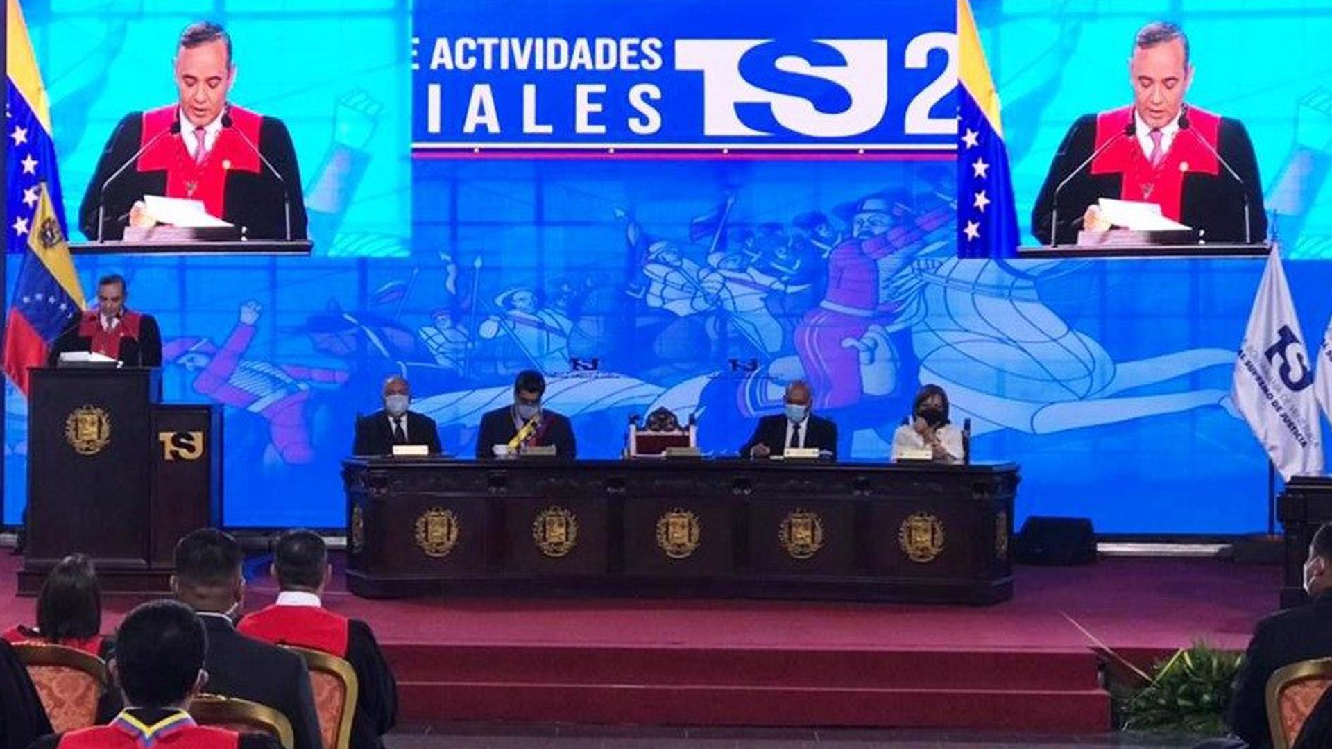 Maikel Moreno amenaza a diputados por promoversanciones y bloqueoscontra Maduro