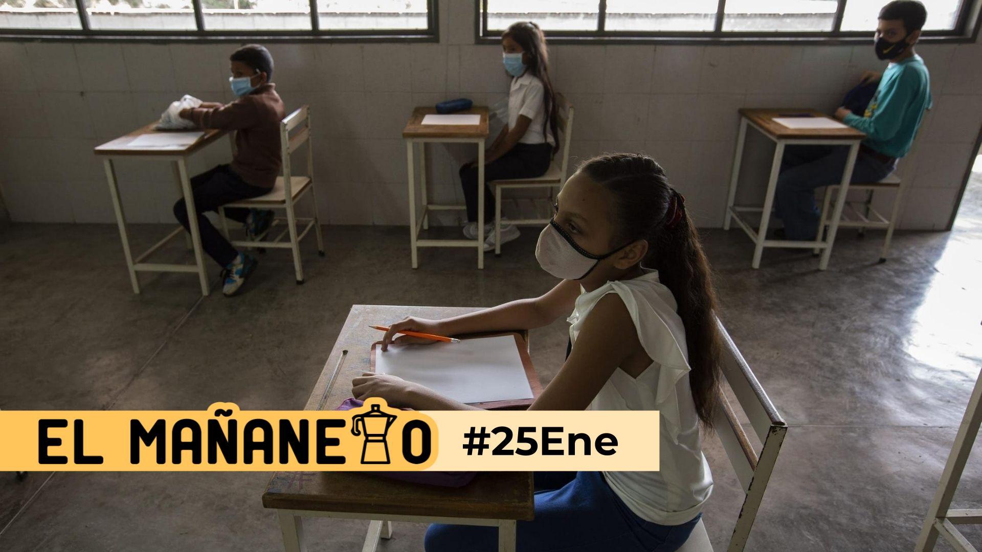 El Mañanero de hoy #25Ene: Las 8 noticias que debes saber