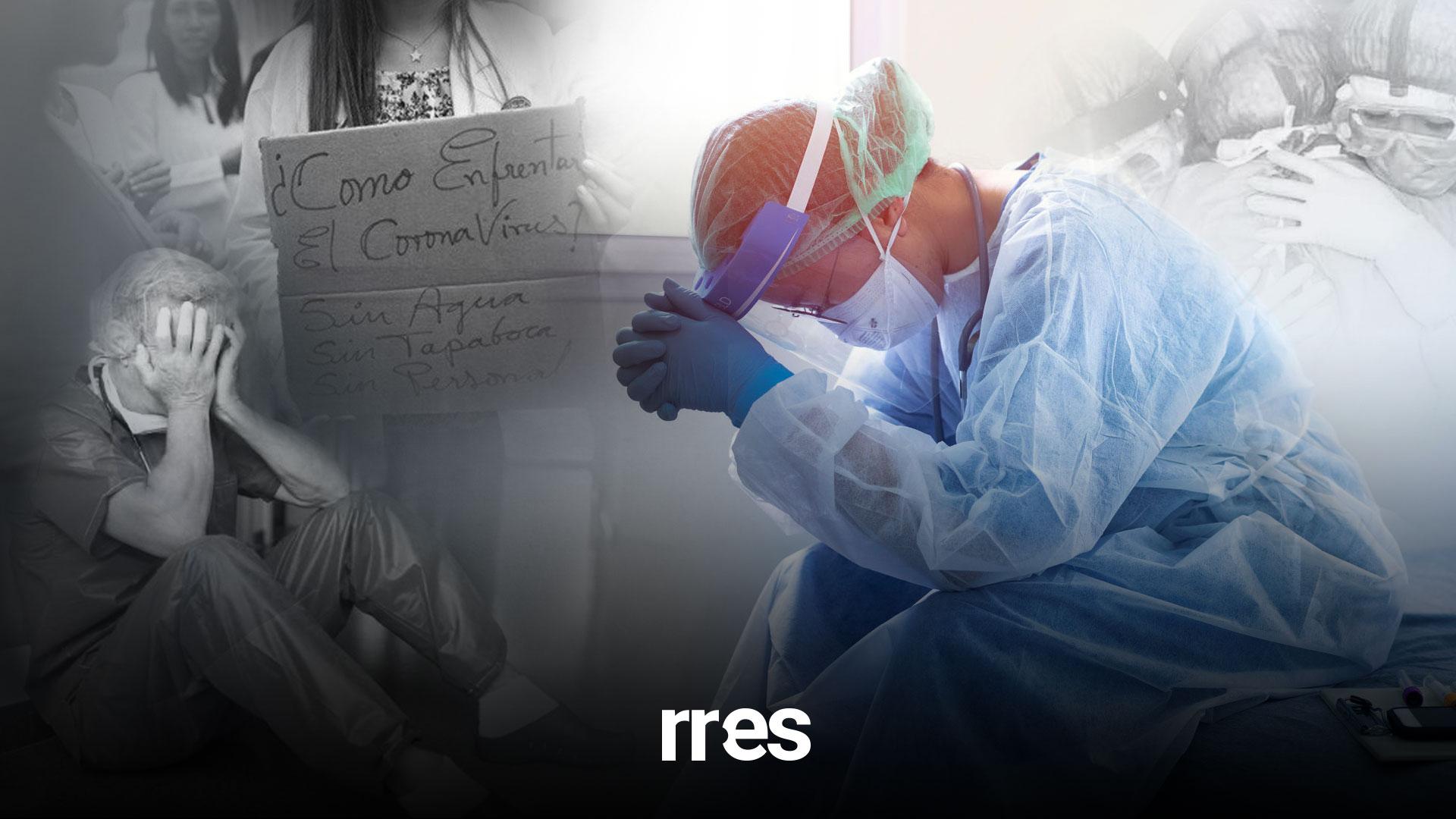 """""""¿Y si soy yo el que sigue?"""" Miedo y desesperanza en el personal de salud venezolano al llegar a 309 colegas fallecidos por COVID-19"""