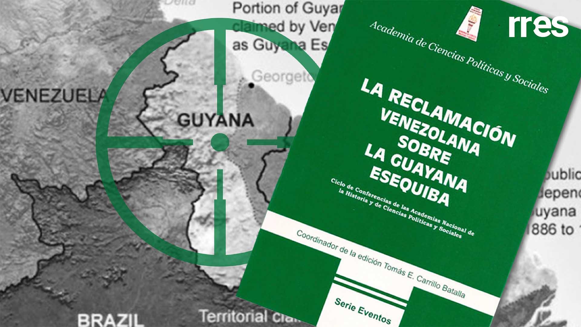 Runrunes de Bocaranda: MEDIO – LIBRO LA RECLAMACION VENEZOLANA SOBRE LA GUAYANA ESEQUIBA