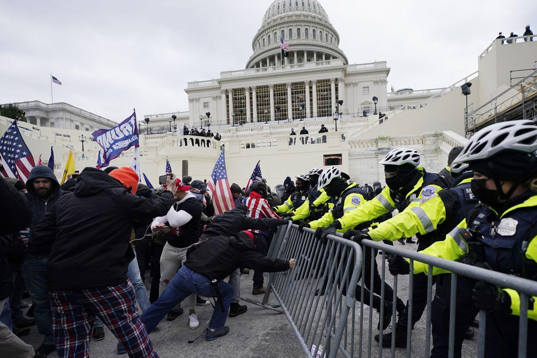 #Claves ¿Qué pasó ayer en el Capitolio de EE. UU?