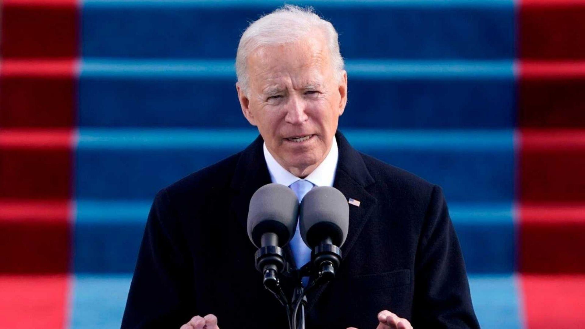 """""""Hoy celebramos el triunfo de la democracia"""", y otras perlas de Joe Biden este #20Ene"""