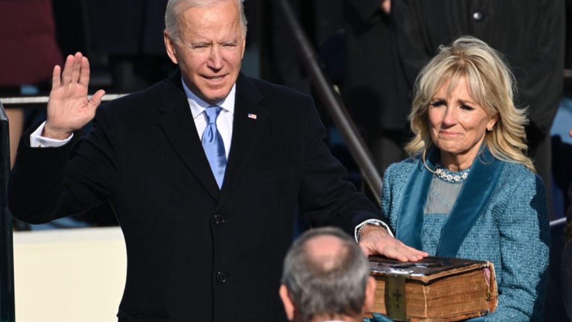 Joe Biden es juramentado como el 46° presidente de Estados Unidos