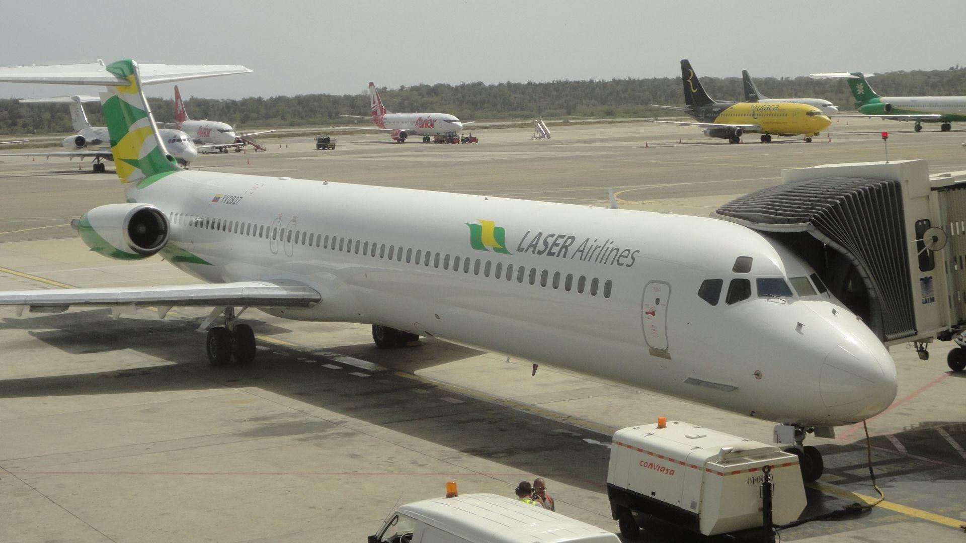 Laser reanudará vuelos hacia Panamá a partir del 23 de enero