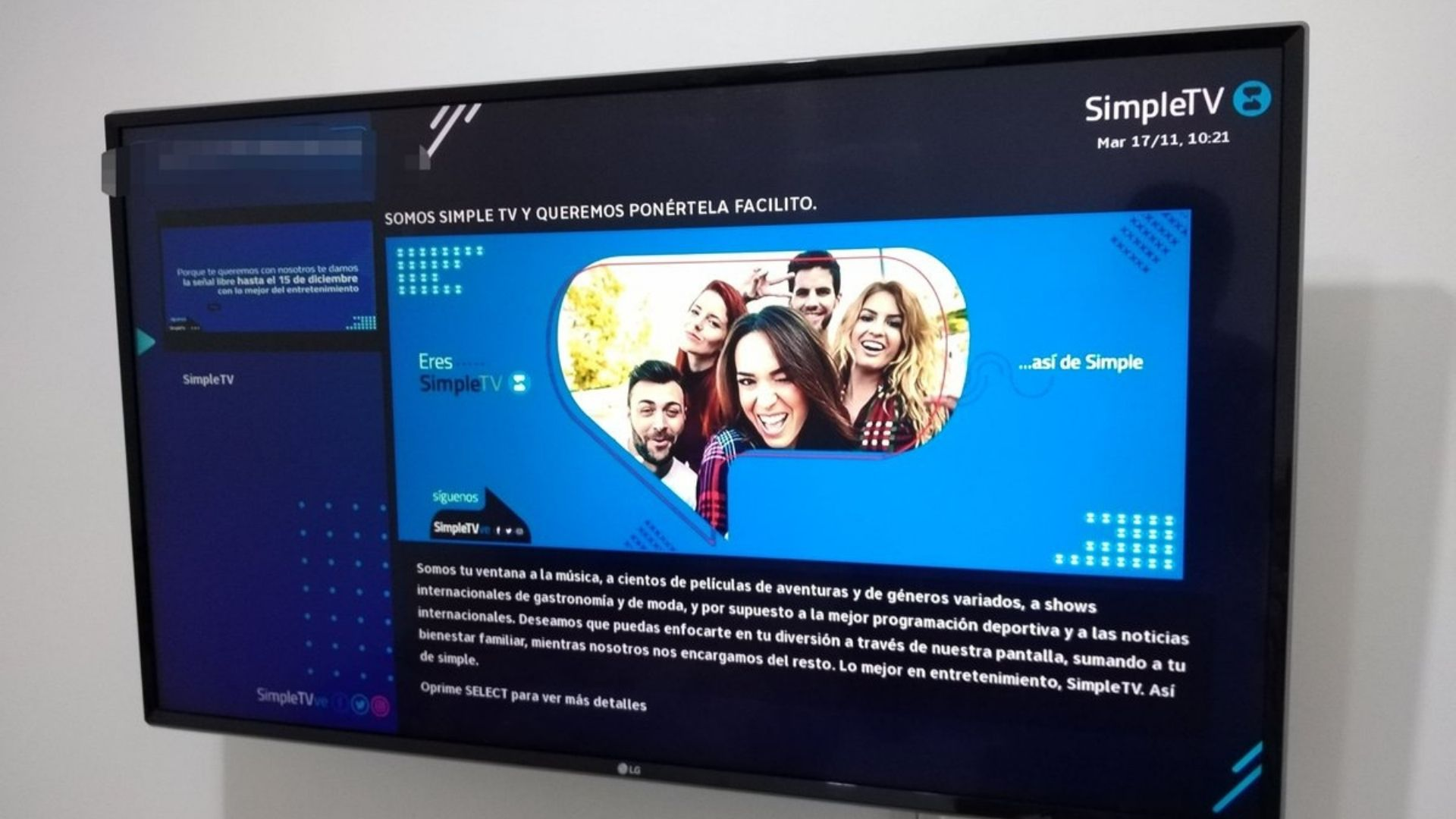 SimpleTV instalará 50 centros de atención presencial al público
