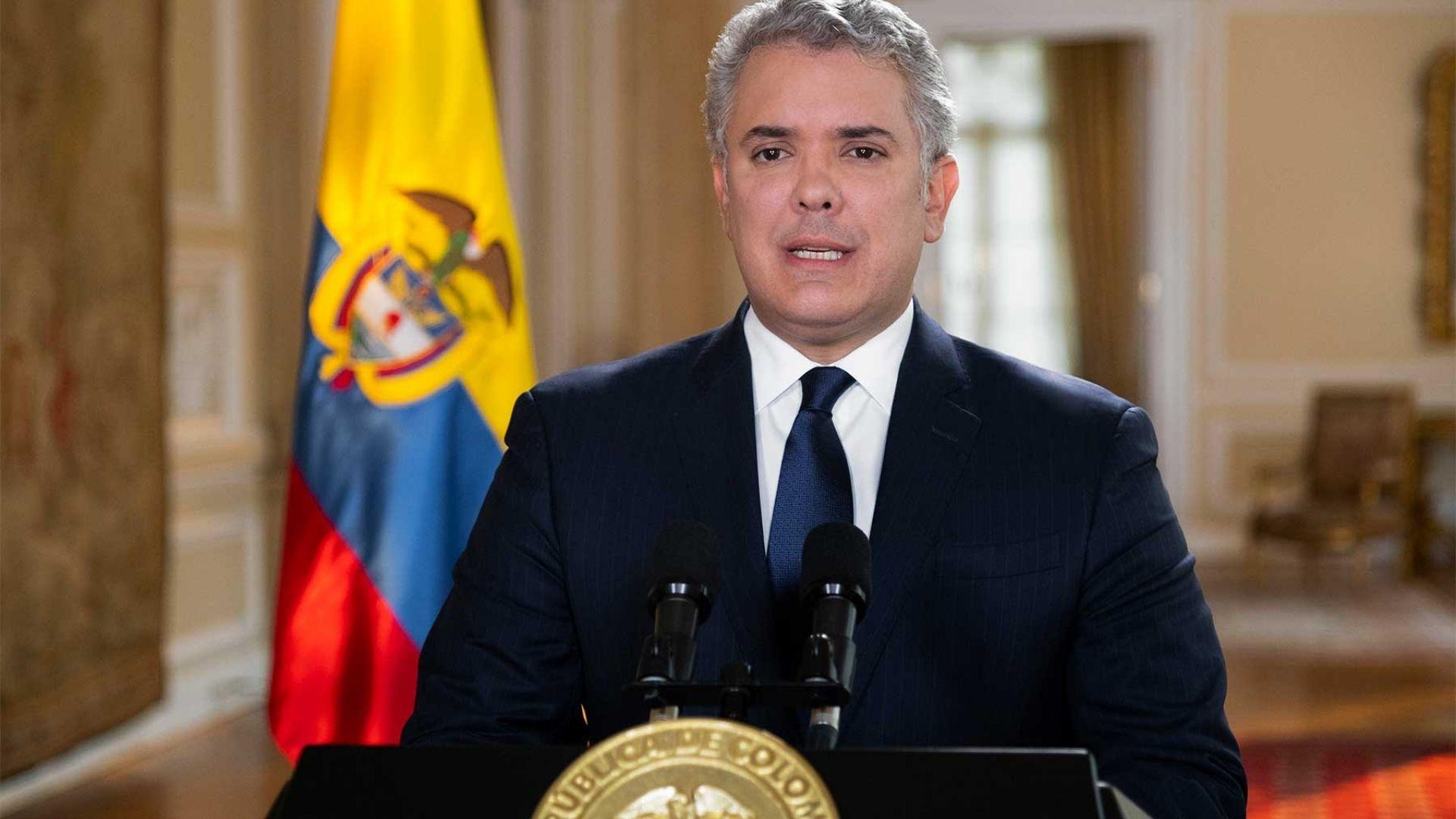 """Presidente Duque pide no ser indiferentes a los """"crímenes atroces"""" en Venezuela"""