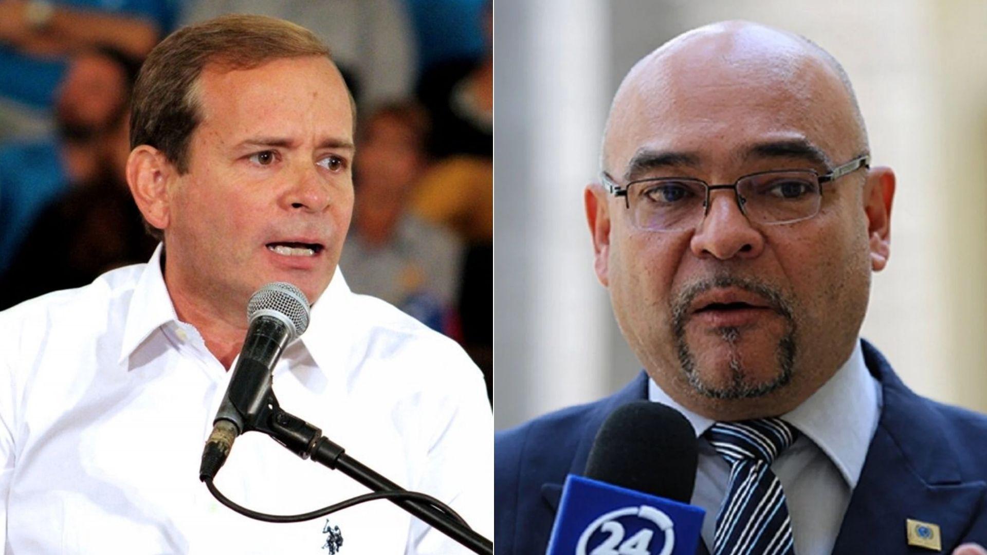Juan Pablo Guanipa y Julio Montoya fueron retenidos por la GNB