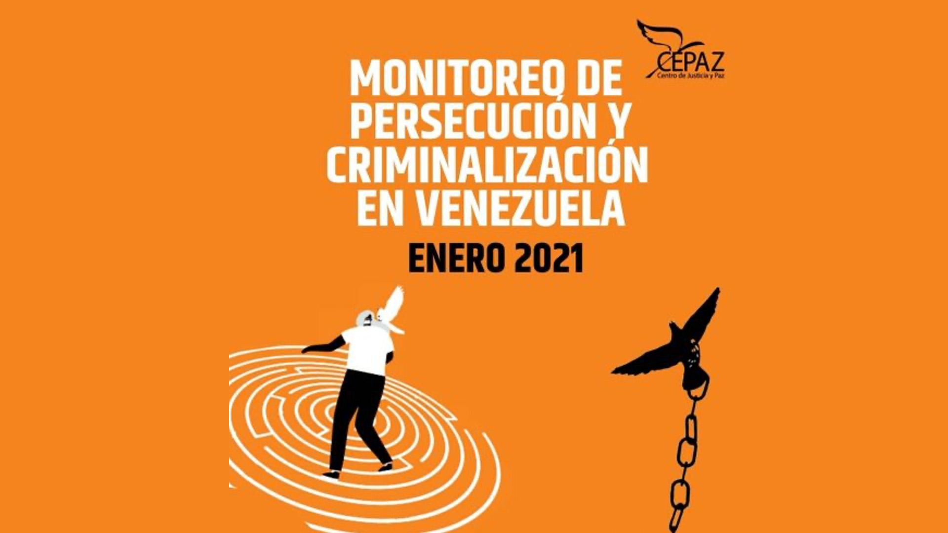 Cepaz: En enero de 2021 hubo 79 actos de persecución contra personas, medios de comunicación y organizaciones