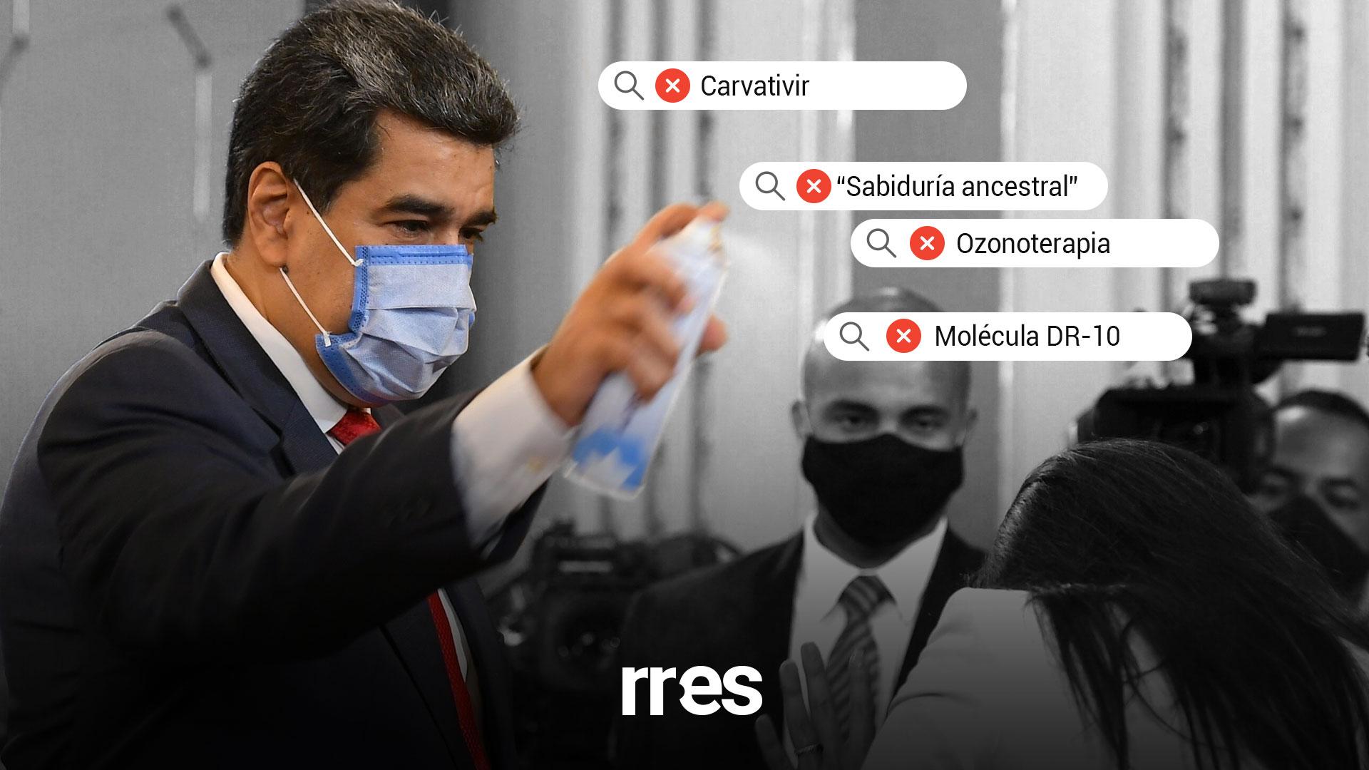 Las medicinas milagrosas que ha promocionado Maduro para curar la COVID-19