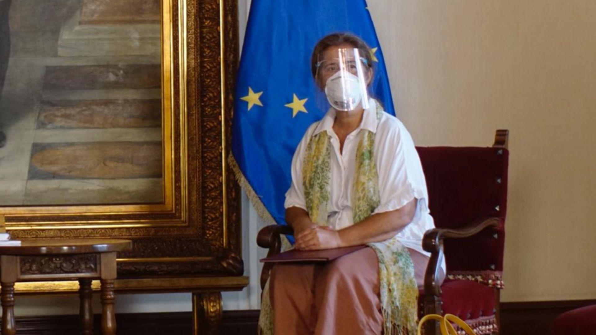 Embajadora de la UE se despide de Venezuela tras cumplirse plazo para su expulsión